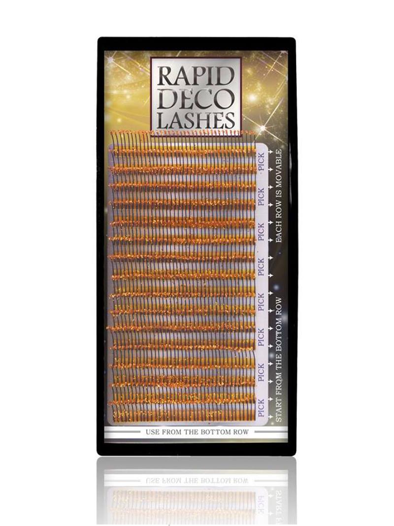 Rapid Deco Lashes Gold Glitzer